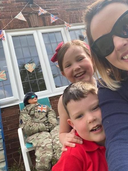 Family time on VE day