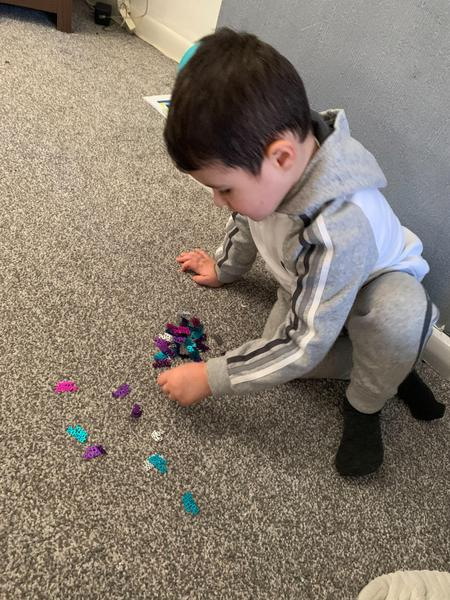 Counting confetti
