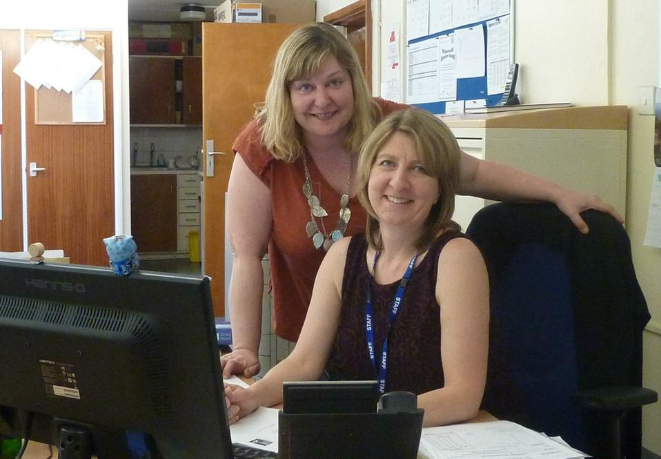 Mrs Colebrook-Taylor & Mrs Rushmere