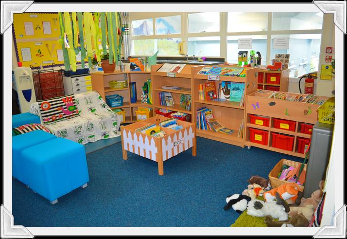 Otter Class Book Corner