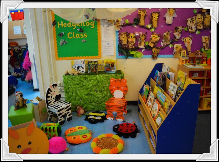 Hedgehog Class Book Corner