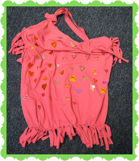 Ivy from Badger Class made this bag from fabric