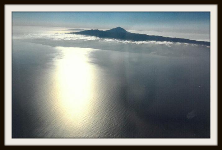 Louisa, Fox: Mount Teide from my aeroplane window