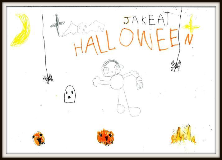 Jake from Hedgehog Class 'Halloween'