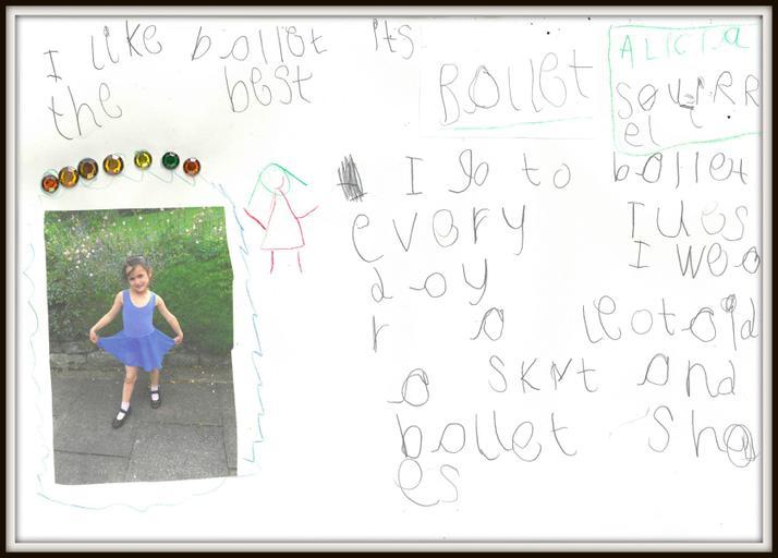Alicia in Squirrel enjoys ballet
