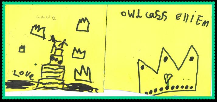 Ellie M in Owl Class
