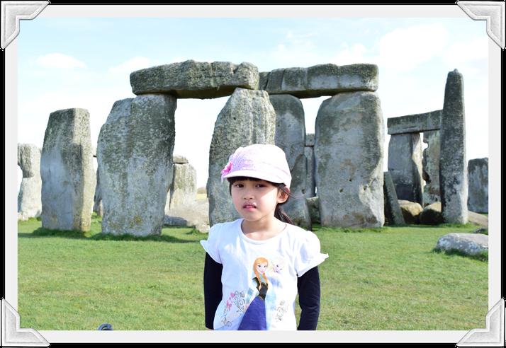 Clarine, Fox Class: Spring blue sky at Stonehenge