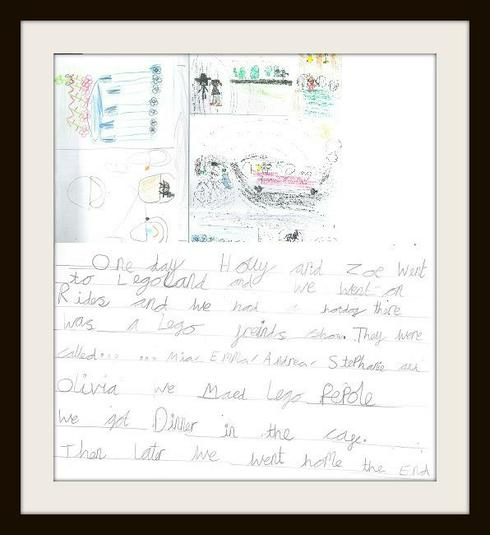 Holly from Rabbit Class 'trip to Legoland'