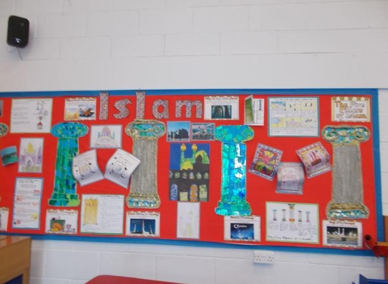 KS2 Islam Display