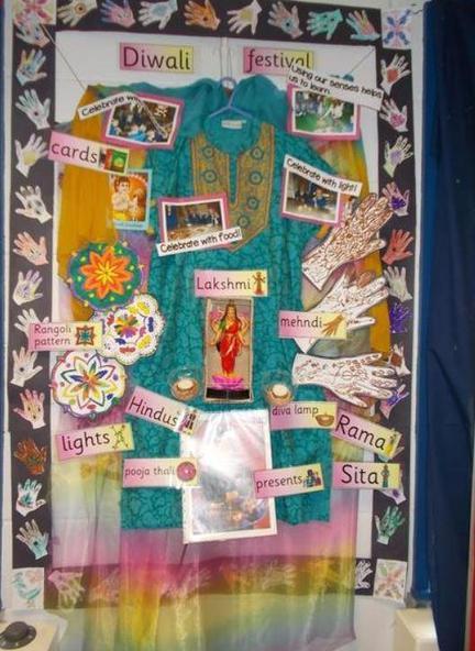 Diwali Display Foundation Stage