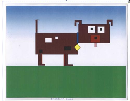 Abstract Art - based on Mondrian