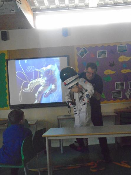 We found out what life was like for astronauts.