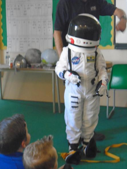 Finding out about the Space Race was interesting.