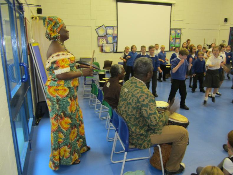 Year 5 African Cultural Day - Singing and Dancing