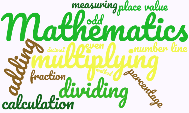 Our pupil rationale for Mathematics