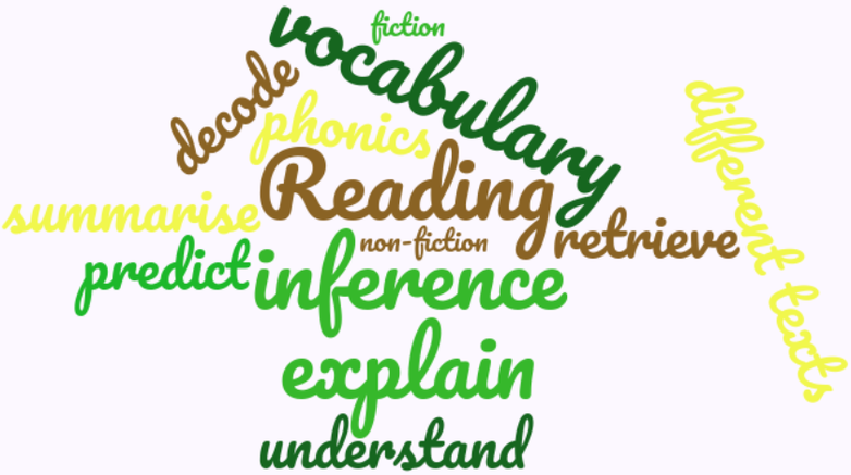 Our pupil rationale for Reading