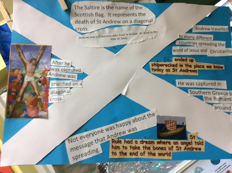 St Andrews Day learning