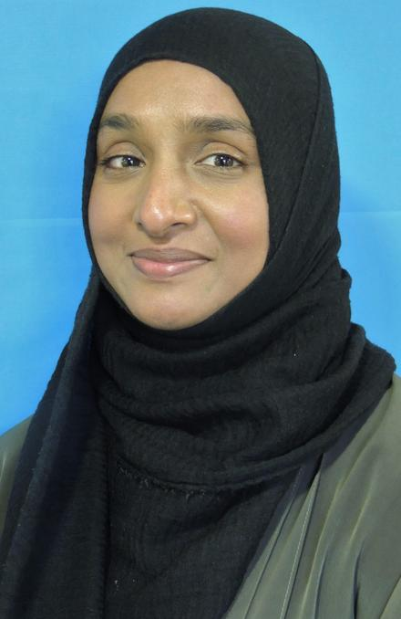 Mrs M Chowdhury - Admissions and Attendance Officer