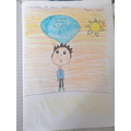 Drawing of Ruskin by Jasmine (3OR)
