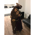 Gruffalo and Princess from Frozen Ayaan (3or)