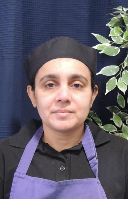 Mrs A Namajee - Kitchen Manager