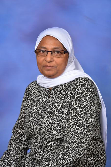 Mrs F Patel - School Caretaker