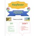 Great HAYFEVER poster by Hameez