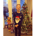 7th December - Rocking a Santa Christmas jumper