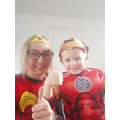 Our family are all superheros - getting through this together!