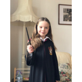 Hermione Grainger -  she is her superhero - brave clever & looks out for her friends