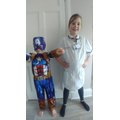 Radiographer hero and of course Captain America - mighty and strong!
