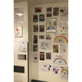 Year 2 pictures displayed at Kings Mill's paediatric department