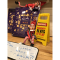 1st December - The 'Astle Elves' return for 2020! Oh dear!