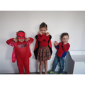 Ready for Mighty Monday- we love superheros for how they help people.