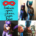 Embracing their inner superhero!