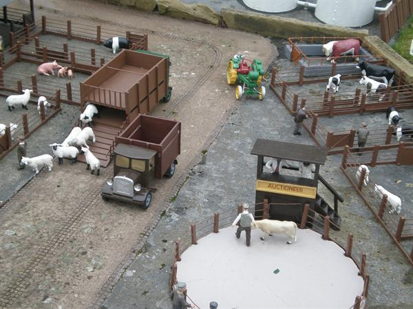 Our first school trip to the model village!