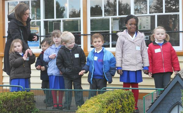 Our school trip to the model village