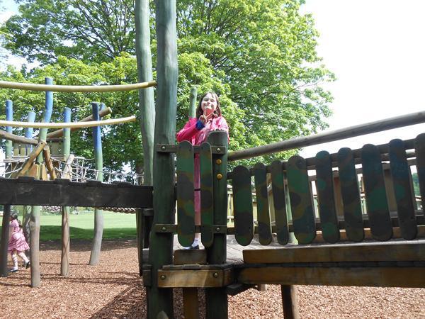 Having fun in the sun for Years 4 & 5!