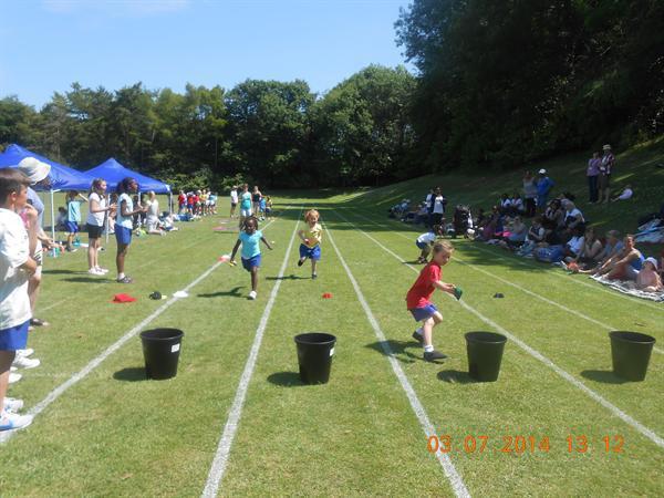 Reception - Sports Day