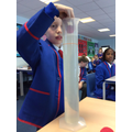 Testing the shapes to learn about water resistance
