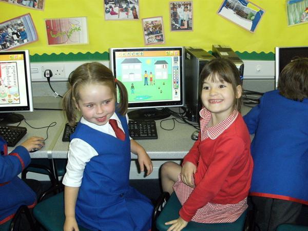 We like using the computers!