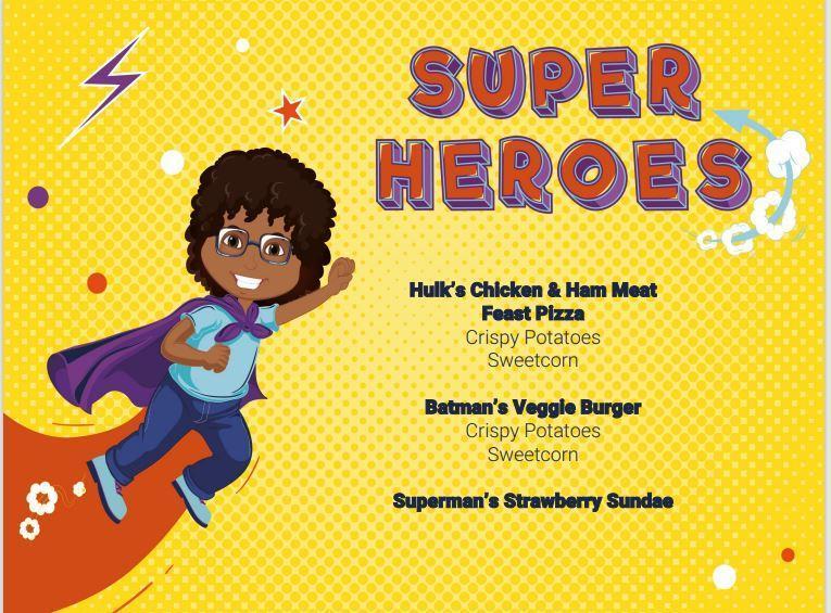 Super Heroes Theme Day 11th November
