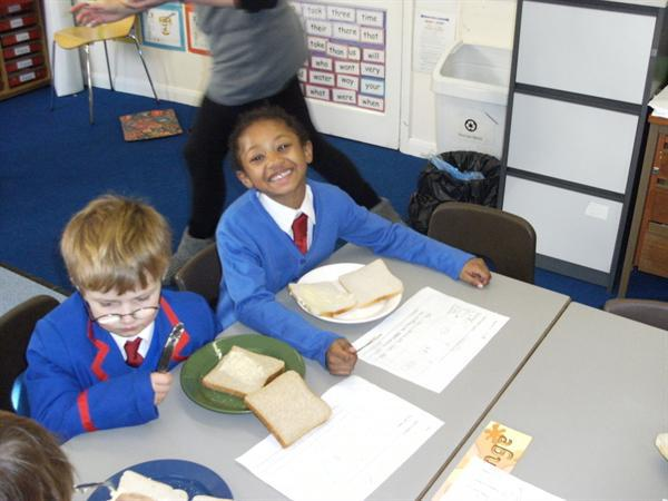 We had fun making our lunch!
