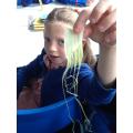 Celery hair!