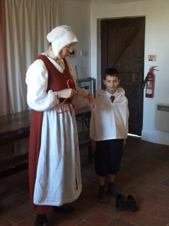 Hawks step back in time at Sulgrave Manor