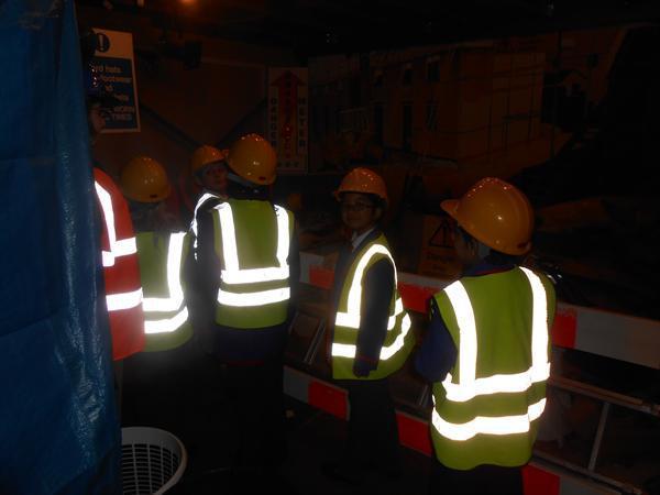 It's safety first at Hazard Alley!