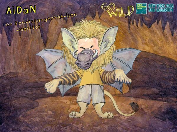 Aidan's Wild Thing