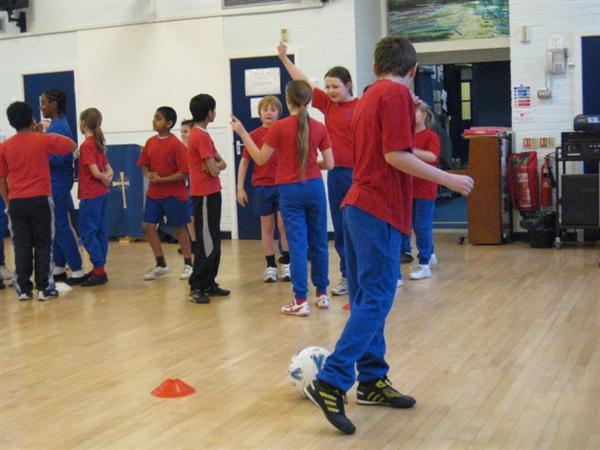 Skills session led by Luther Blissett