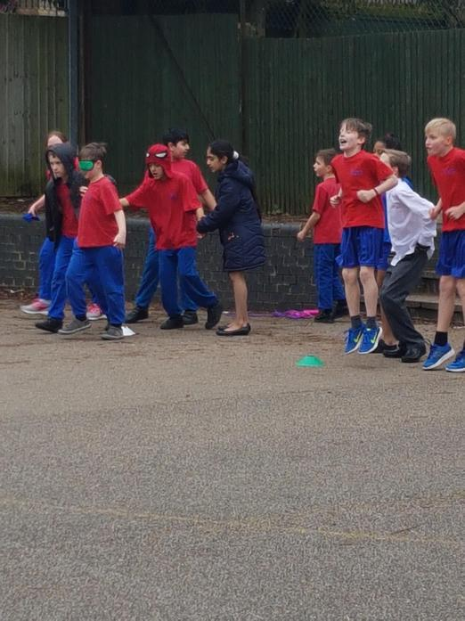 Class compeition relays!