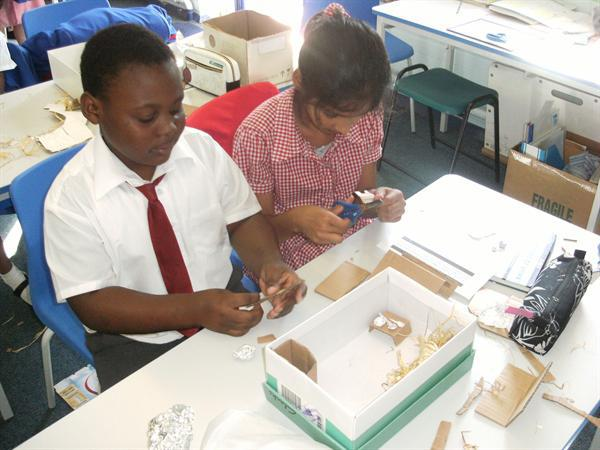 Making Tudor houses...